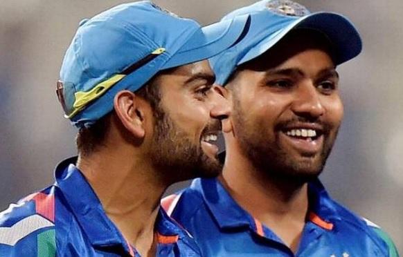भारत की शानदार जीत के बाद कोहली ने सभी को दी बधाई लेकिन रोहित के लिए किया ऐसा Images