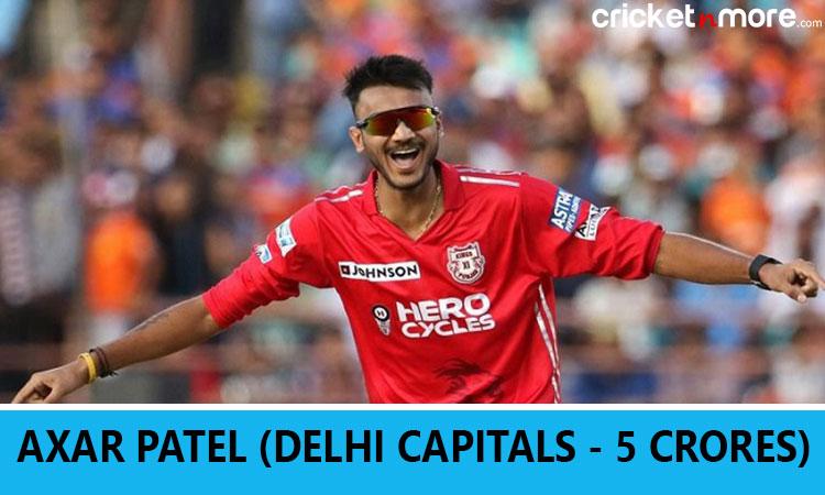 IPL 2019 Auction: Delhi Capitals buy Axar Patel for 5 crore Images