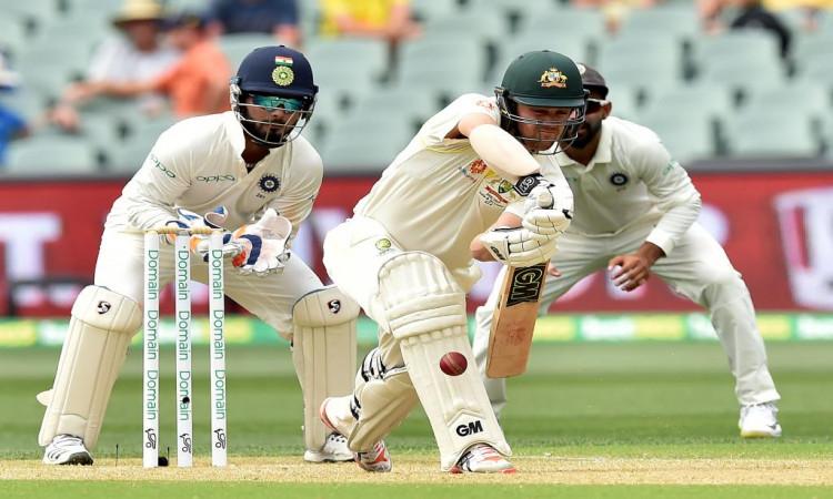 Head half-century helps Australia post 191/7 vs India as wickets tumble Images