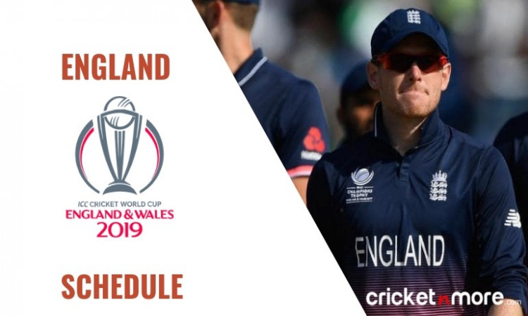 England Cricket Team Schedule