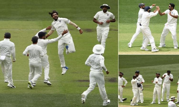 भारतीय गेंदबाजों के कहर के आगे ऑस्ट्रेलिया की हालत हुई पतली, पहली पारी में ऑस्ट्रेलिया के 7 विकेट आउ