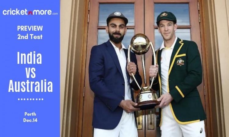 India vs Australia 2nd Test Preview