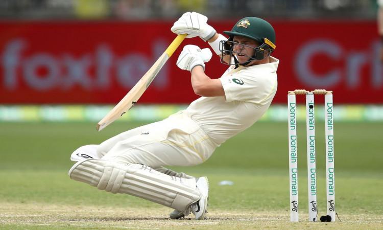 2nd Test: Australia post 33/0 at tea Images