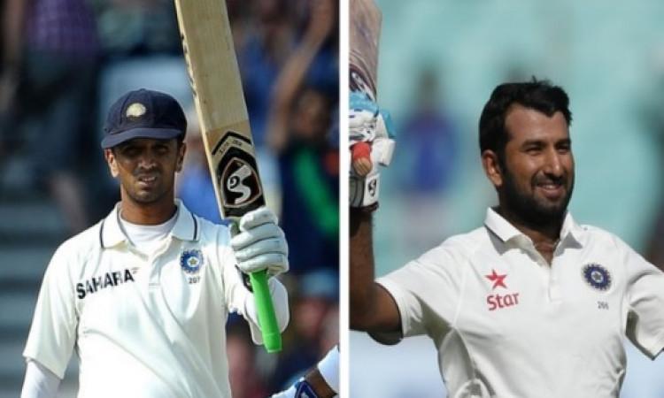 चेतेश्वर पुजारा का राहुल द्रविड़ के इस खास रिकॉर्ड के साथ बना अनोखा संयोग, जानकर पूरा क्रिकेट जगत है
