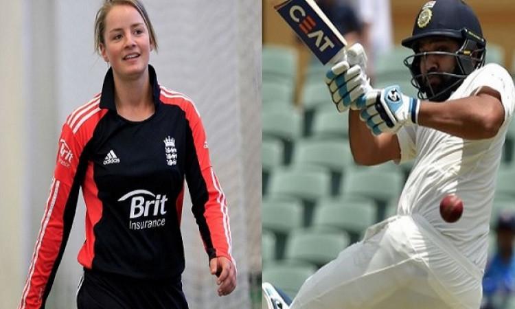 रोहित के प्लेइंग XI में होने पर विराट की दिवानी खूबसूरत महिला क्रिकेटर ने इस बार रोहित शर्मा के लिए