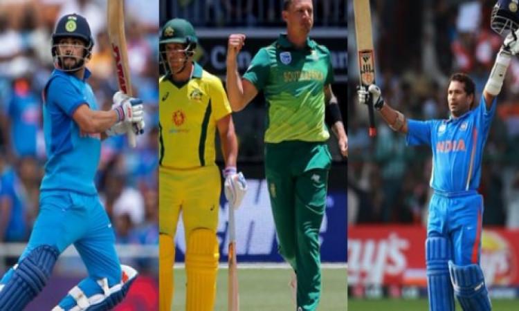 डेल स्टेन ने आखिरकार दिया ऐसा बयान, बताया सचिन और विराट में कौन है दिग्गज बल्लेबाज Images