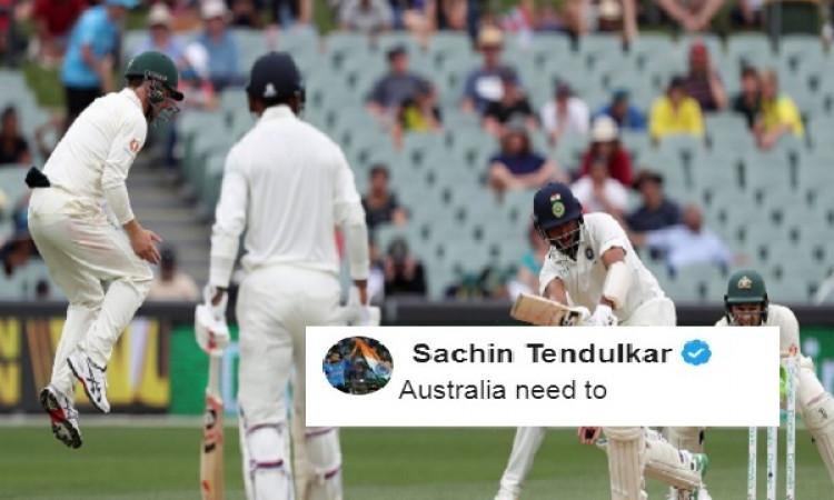 एडिलेड टेस्ट मैच इस तरह से अभी भी जीत सकती है ऑस्ट्रेलियाई टीम, सचिन ने दी खास सलाह Images