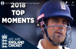 England Cricket in 2018