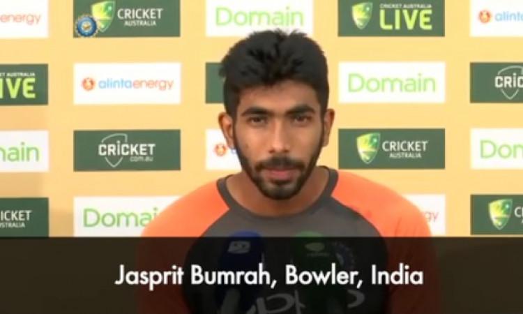 मेलबर्न टेस्ट मेें कमाल की गेंदबाजी करने का श्रेय जसप्रीत बुमराह ने रोहित शर्मा को दिया Images