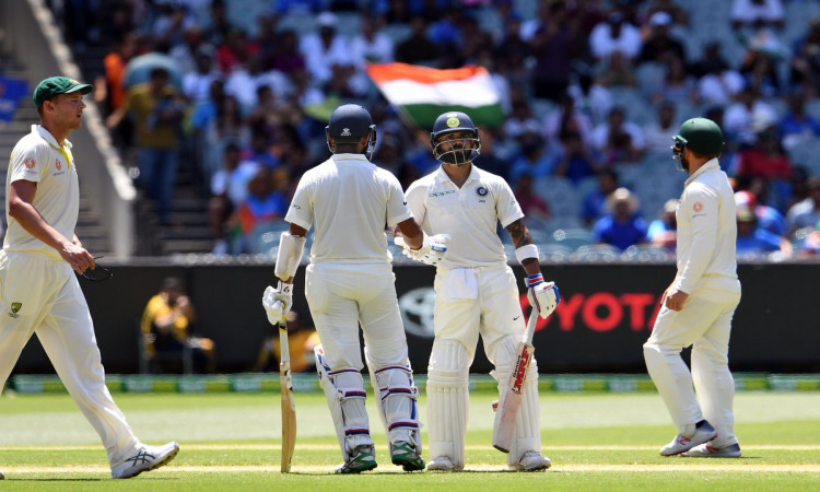 3rd Test: India declare on 443/7 Images