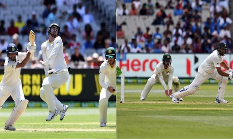 मेलबर्न टेस्ट में दूसरे दिन का खेल खत्म, भारतीय टीम मजबूत स्थिती में Images