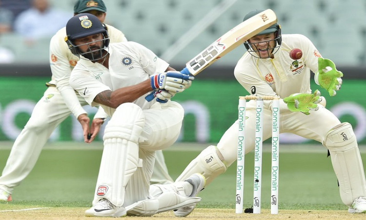 India reach 86/2 at tea; stretch lead to 101 runs Images