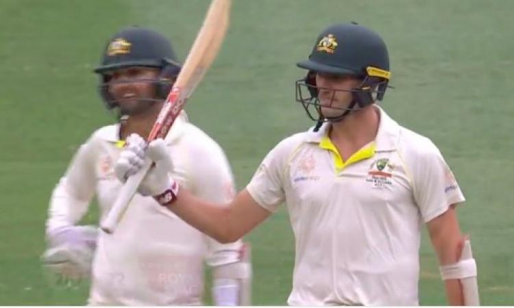 चौथे दिन भारत को जीतने से पैट कमिंस ने रोक दिया, ऑस्ट्रेलिया 141 रन पीछे Images