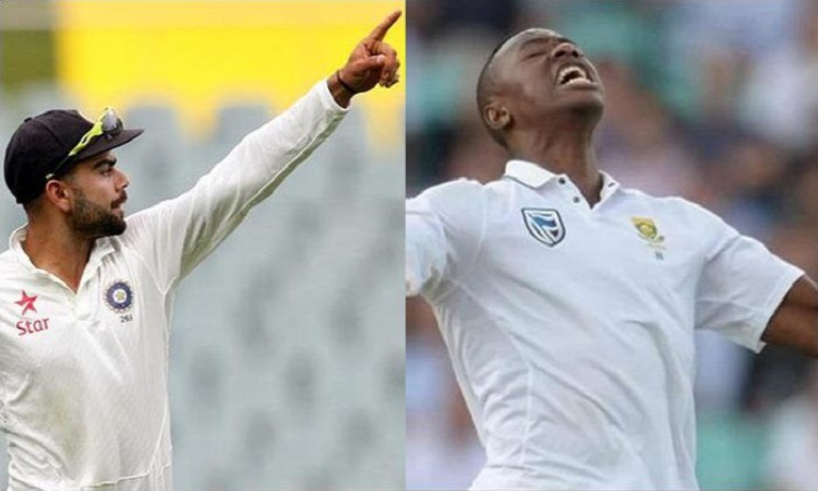 Kohli, Rabada maintain top spot in Test Player rankings Images