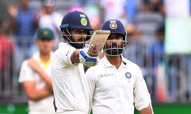 Virat Kohli, Ajinkya Rahane propel India's recovery in reply to Australia's 326  Images