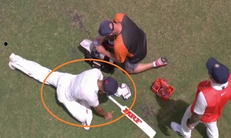 विराट कोहली के फैन्स के लिए बुरी खबर, बल्लेबाजी करते हुए पीठ के दर्द से फिर हुए परेशान Images