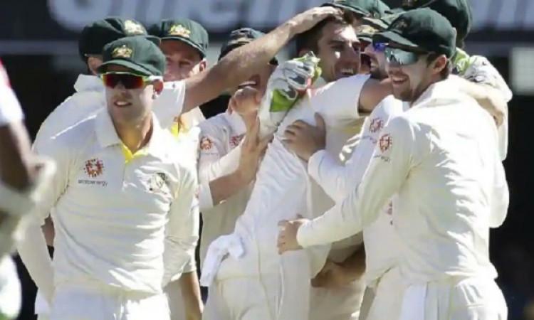 कमिंस की बेहतरीन गेंदबाजी के दम पर आस्ट्रेलिया ने पहले टेस्ट मैच में श्रीलंका को पारी और 40 रनों से