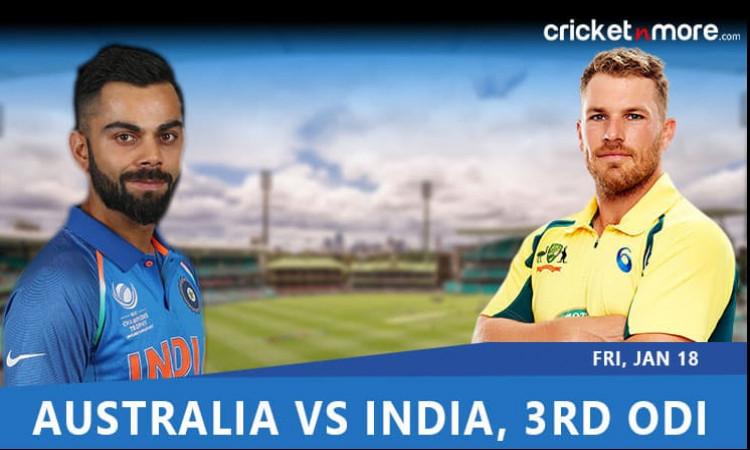निर्णायक वनडे के लिए भारत - ऑस्ट्रेलिया की टीम इन खिलाड़ियों के साथ उतरेगी, जानिए प्लेइंग XI Images