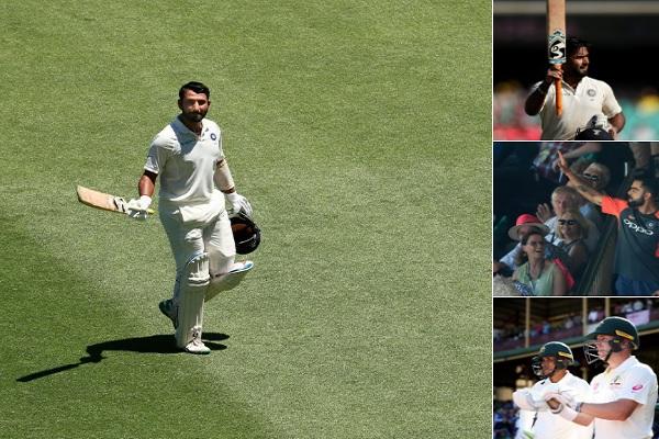 भारतीय टीम ने सिडनी टेस्ट में बना दिया गजब का रिकॉर्ड, टेस्ट क्रिकेट के इतिहास में पहली दफा हुआ ऐसा