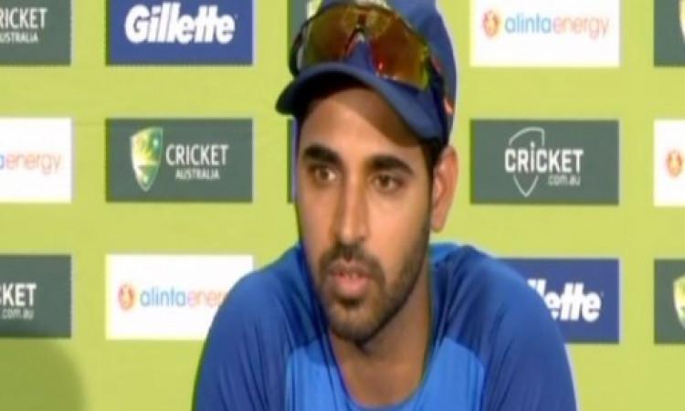 दूसरे वनडे से पहले भुवनेश्वर कुमार  का ऐलान, ऑस्ट्रेिलिया से जीतने के लिए करना होगा यह काम Images