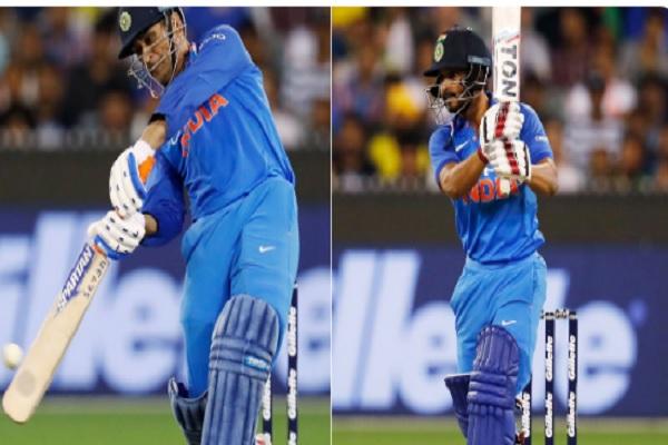 धोनी और केदार जाधव ने मिलकर भारत को दिलाई ऐतिहासिक जीत, भारत ने 2- 1 से सीरीज पर किया कब्जा Images
