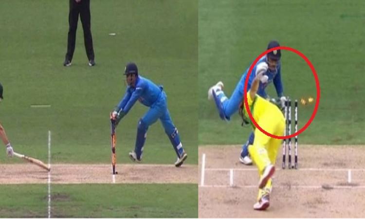 शॉन मार्श को स्टंप आउट कर धोनी ने ऑस्ट्रेलिया के खिलाफ वनडे में बतौर विकेटकीपर रच दिया ऐसा रिकॉर्ड I