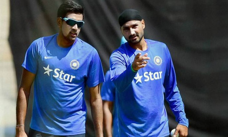 Harbhajan Singh+R Ashwin