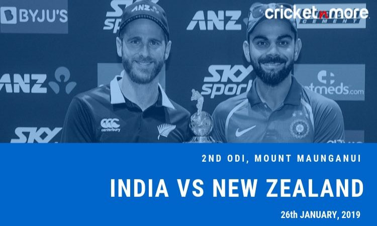 India tour of New Zealand 2019