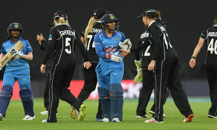Smriti Mandhana stars in India's 9-wkt win over New Zealand in tour opener Images