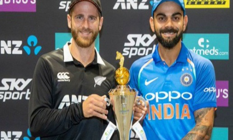 नेपियर में खेला जाएगा भारत - न्यूजीलैंड के बीच पहला वनडे, जानिए कैसा रहा है भारत का रिकॉर्ड Images