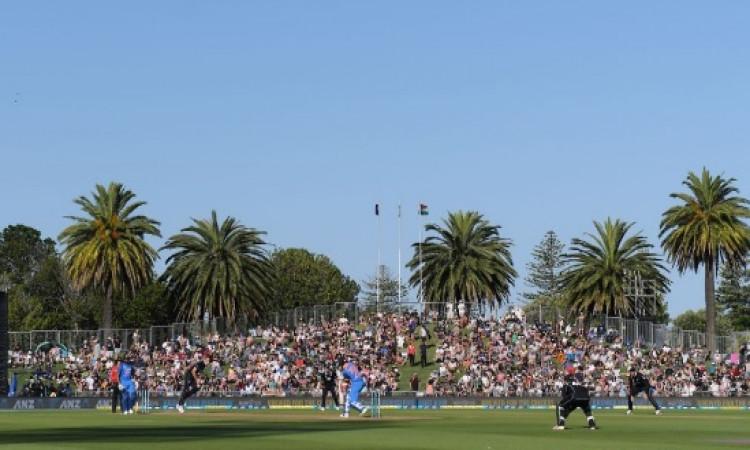 UPDATE भारत - न्यूजीलैंड पहला वनडे मैच बिना बारिश के रोका गया, कारण हैरान करने वाला Images