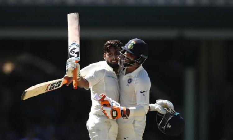 सिडनी टेस्ट की पहली पारी में ऋषभ पंत और रविंद्र जडेजा ने मिलकर बनाया वर्ल्ड रिकॉर्ड Images