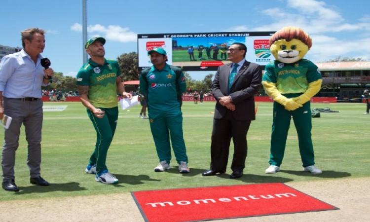 दूसरा वनडे: साउथ अफ्रीका ने पाकिस्तान के खिलाफ टॉस जीतकर पहले फील्डिंग का किया फैसला, जानिए प्लेइंग