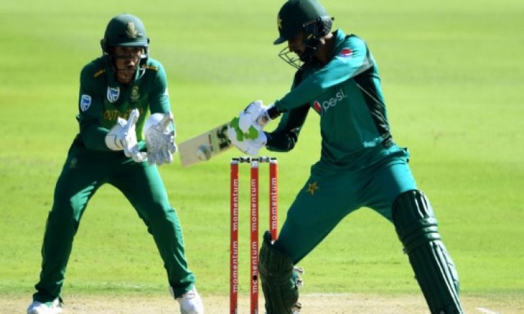 पाकिस्तान के खिलाफ 5वें वनडे मैच साउथ अफ्रीका ने टॉस जीतकर पहले फील्डिंग करने का किया फैसला Images