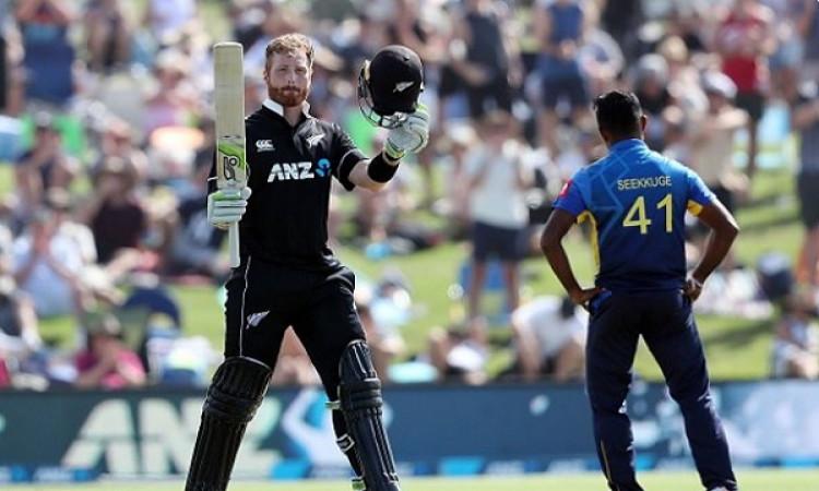 मार्टिन गुप्टिल की धमाकेदार पारी के कारण पहले वनडे में न्यूजीलैंड ने श्रीलंका को 45 रनों से दी मात I