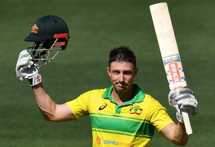 Shaun Marsh Scored A Century In Adelaide ODI Images