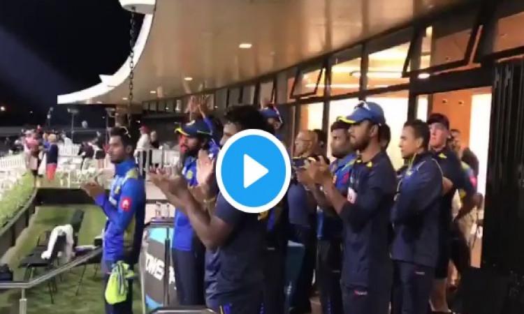 WATCH परेरा की तूफानी पारी के बावजूद श्रीलंका हारा लेकिन क्रिकेट फैन्स ने दिया ऐसा दिल जीतने वाला सम