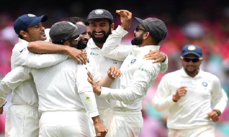 ऐतिहासिक जीत के बाद बीसीसीआई ने भारतीय टीम को दी बधाई, लिखा मैसा मैसेज Images