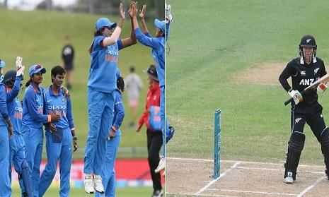 भारतीय पुरूष क्रिकेटरों के बाद भारतीय महिला क्रिकेटरों ने न्यूजीलैंड में मचाया धमाल, विरोधी टीम केवल