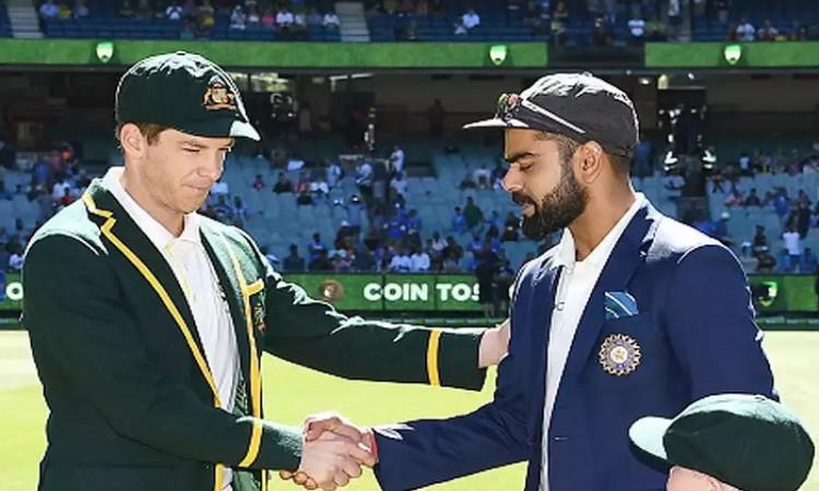 india vs australia 4th test toss