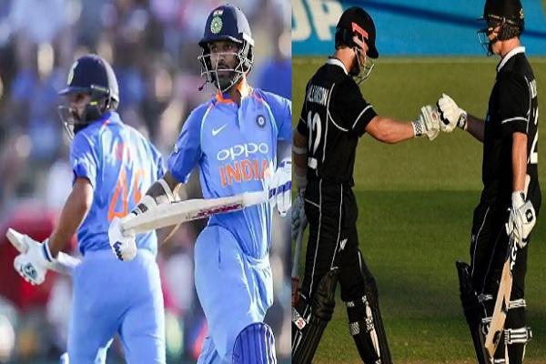 भारत - न्यूजीलैंड (चौथा वनडे): जानिए दोनों टीमों की संभावित प्लेइंग XI, होंगे कई सारे बदलाव Images