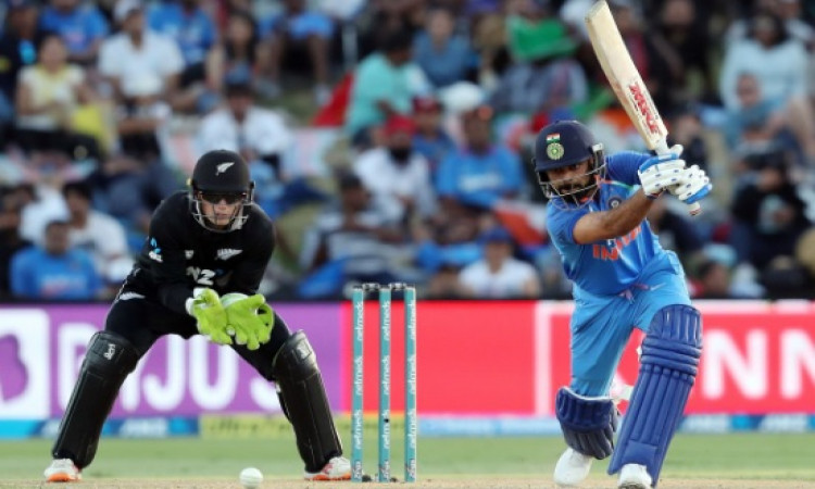 तीसरे वनडे में भारत ने न्यूजीलैंड को 7 विकेट से हराया, सीरीज में 3- 0 की अजेय बढ़त Images