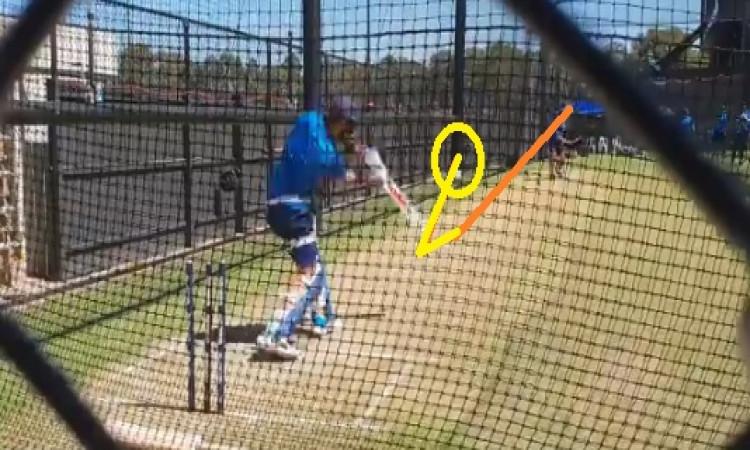 WATCH एडिलेड वनडे के लिए भारतीय टीम तैयार, कोहली ने अभ्यास सत्र में ऐसे - ऐसे करारे शॉट्स खेले Image