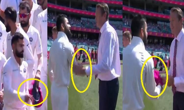 WATCH सिडनी टेस्ट के तीसरे दिन विराट कोहली ने अपने इस व्यवहार से जीत लिया हर किसी का दिल Images