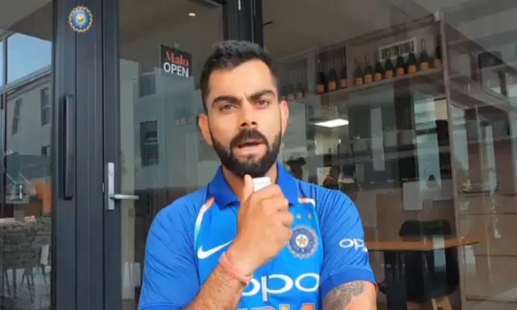 WATCH आईसीसी के 3 प्रमुख पुरस्कार जीतने के बाद विराट कोहली का रहा ऐसा रिएक्शन, देखिए Images