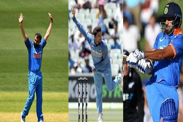 पहले वनडे में न्यूजीलैंड को भारत ने 8 विकेट से दी मात, भारतीय गेंदबाजों और शिखर धवन का दिखा जलवा Ima