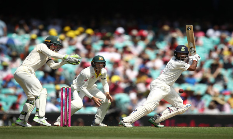 Sydney Test: Half-centuries by Agarwal, Pujara take India to 177/2 at Tea Images