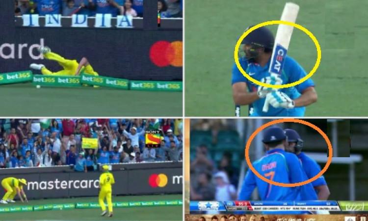 सिडनी वनडे में धोनी और रोहित शर्मा की दिख रही है 'यारी', दोनों मिलकर कर रहे हैं कमाल Images