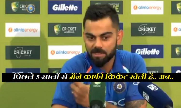 सिडनी वनडे से पहले कोहली ने रिटायरमेंट को लेकर कर दिया बड़ा ऐलान, संन्यास के बाद पहला काम क्या करेंग