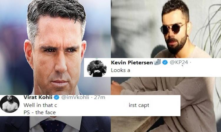 कोहली ने पोस्ट की फोटो फिर केविन पीटरसन ने कमेंट कर उड़ाना चाहा मजाक, विराट का आया ऐसा रिएक्शन Image